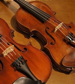 オールドヴァイオリン(分数1/2) ca1900 2台 入荷!