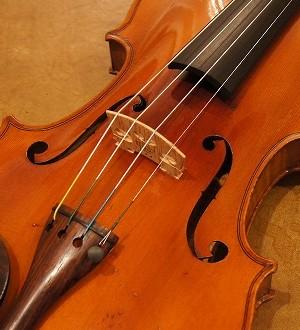 モダンヴァイオリン(フランス)Modern  French violin  (J.T.Lamy) ca.1900