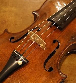 オールドヴァイオリン(ドイツ)Old  German violin by Carl Rautmann 1894
