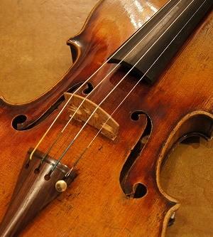オールドヴァイオリン(チェコ)Old Czech violin ca.1880