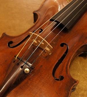 オールドヴァイオリン(ドイツ)Old  German violin  ca.1870