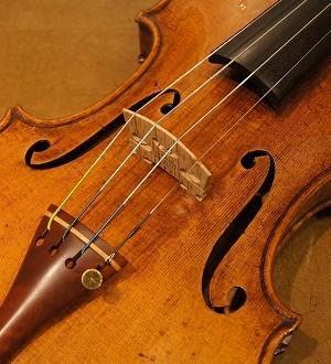 モダンヴァイオリン(ドイツ) Guarneri Del Gesu(ガルネリモデル) ca.1900