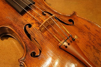 オールドヴァイオリン(フランス)Atelier Caussin(クサン工房製) ca.1870