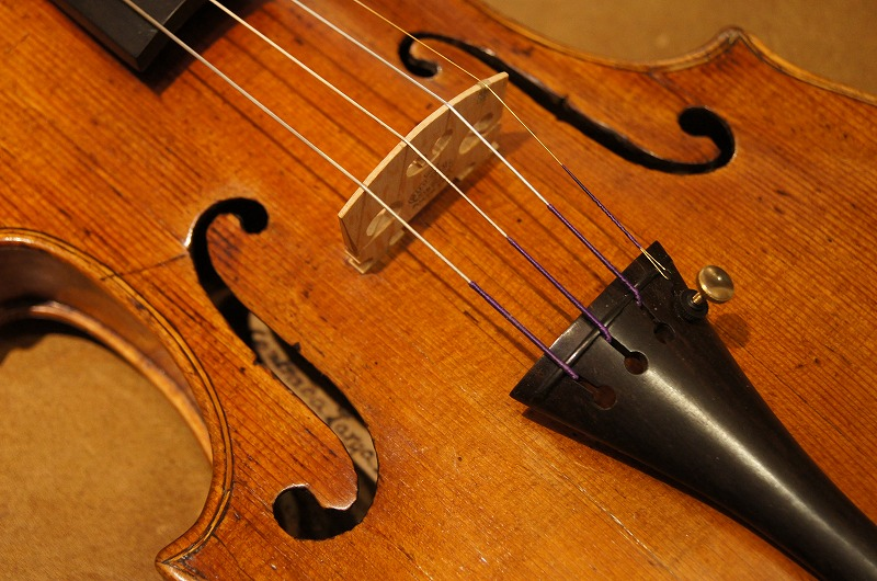 オールドヴァイオリン(イタリア)Old Italian violin, Milano school ca.1770