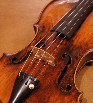 オールドヴァイオリン(オーストリア)Old Vienese Master violin  ca.1750