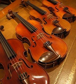 オールドヴァイオリン(分数1/2,3/4) ca1900 4台 入荷!