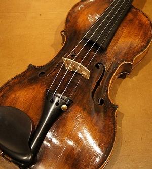 オールドヴァイオリン(フランス) Claude F. Vuillaume, ca1730 入荷!