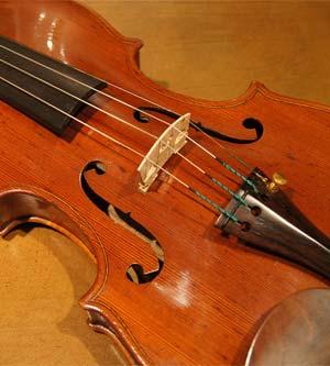 オールドヴァイオリン(イタリア) Enrico Mellegari, 1875 入荷!